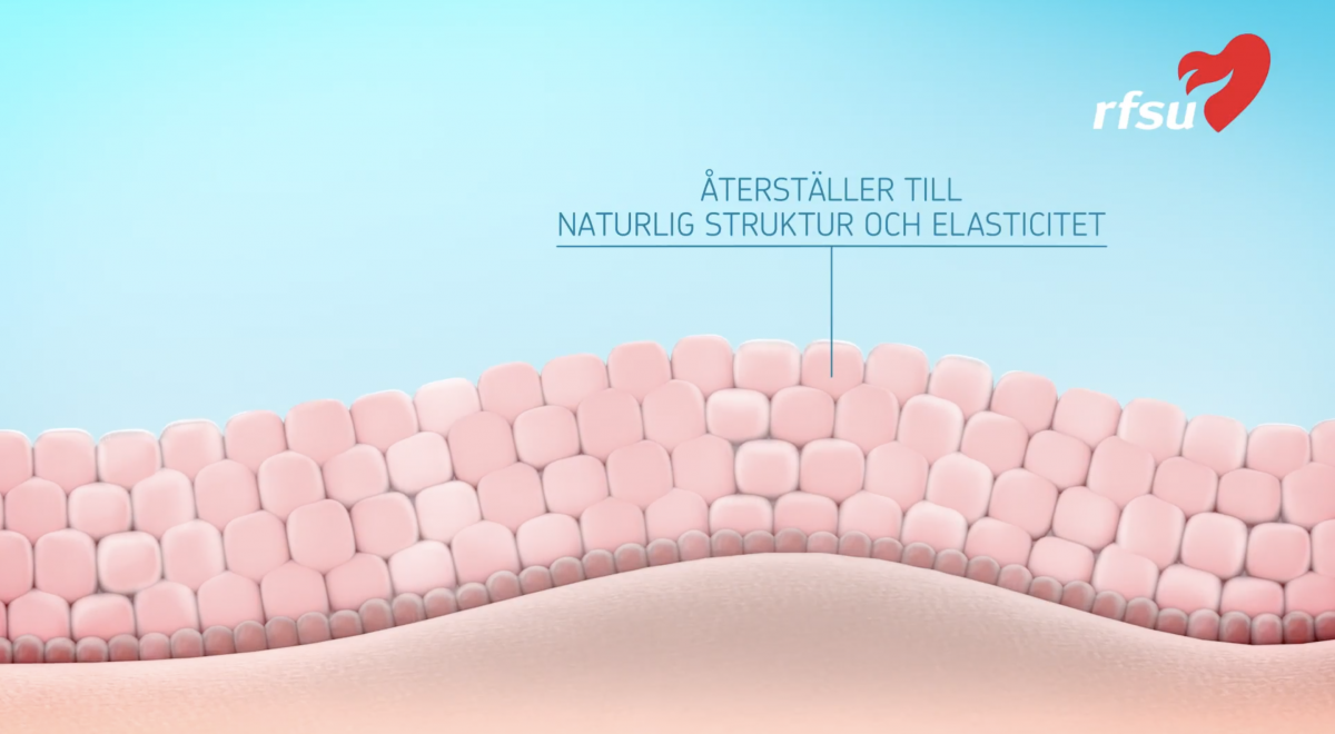 Närbild från 3D-del av RFSU-filmen