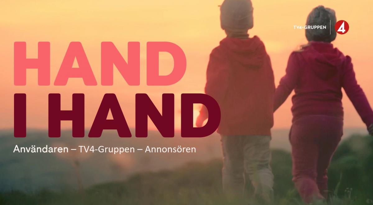Bildexempel på PPT-sida ur säljpresentation för TV4
